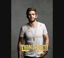 Thomas Rhett Tour 2016 mic03 Women's Fitted Scoop T-Shirt
