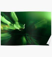 Grüne Musik Poster
