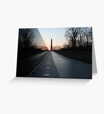 Vietnam Memorial Greeting Card