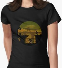 Abe's Oddysee Women's Fitted T-Shirt