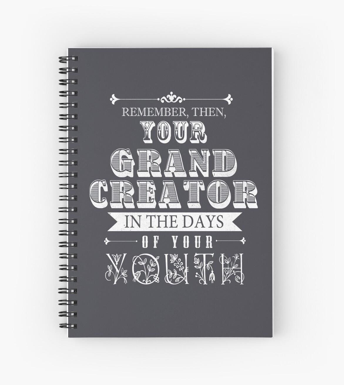 ECCLESIASTES 12:1 by JW ARTS & CRAFTS
