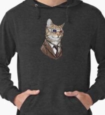 10th Doctor Mew 3D Glasses Lightweight Hoodie