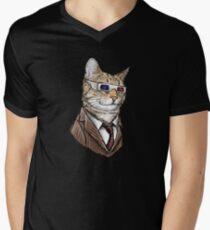 10th Doctor Mew 3D Glasses T-Shirt