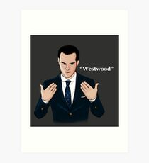 """""""Westwood"""" - Moriarty Art Print"""
