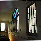 Inside Clavil Chapel  by Judy Seltenright