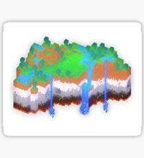 Minecraft Theme Sticker