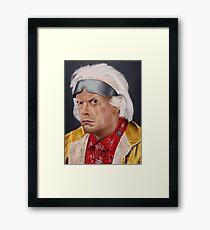 Emmett Brown Framed Print