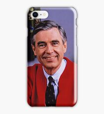 Mr.Rogers iPhone Case/Skin