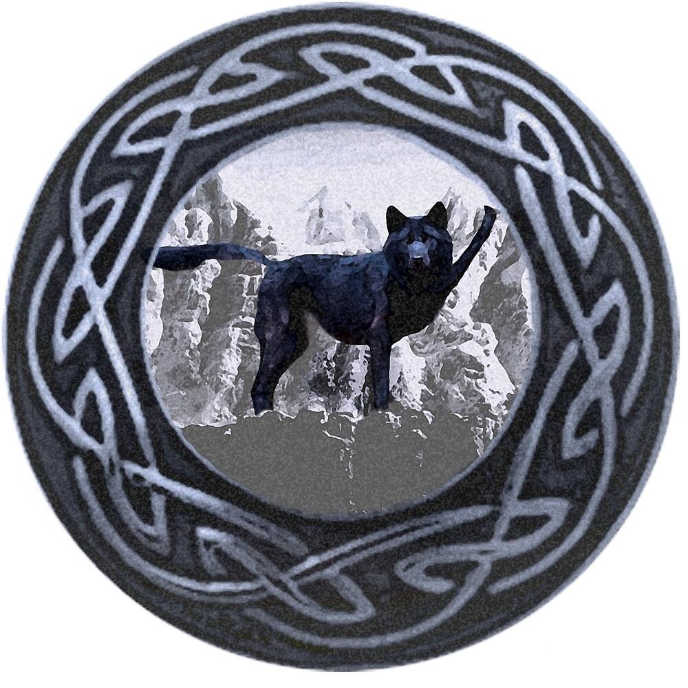 Wolfish Respect by mokacat