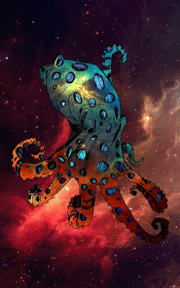 Galaxy  Octopus by MattSheffield