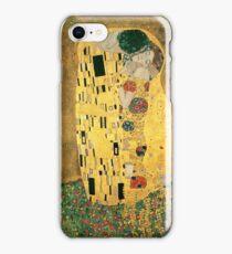 Klimt's The Kiss iPhone Case/Skin