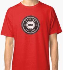 Cycling Portland Black & White Classic T-Shirt
