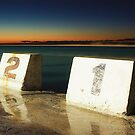 Merewether Baths - First Light by Maxwell Campbell