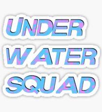 Under Water Squad - It G Ma Sticker