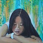 Portrait of a Girl by Almeta