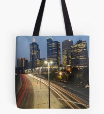 Batman to city Tote Bag