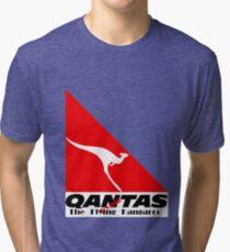 Qantas The Dying Kangaroo Tri-blend T-Shirt