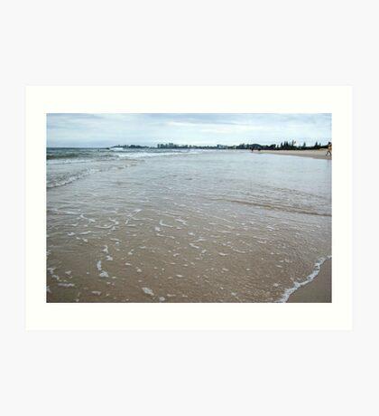 Tugun beach Art Print