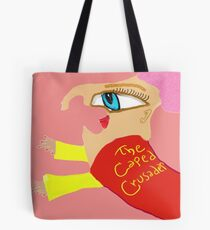Arnold The Caped Crusader Tote Bag