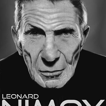 Leonard Nimoy by SanFernandez
