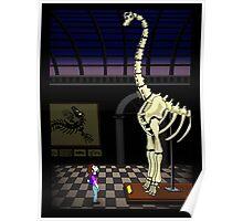 Dinosaur timespace Poster