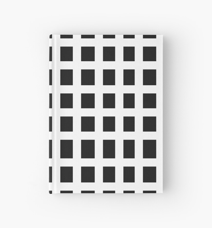 Transparent Grid Background Hardcover Journals By Tishisnotonfire