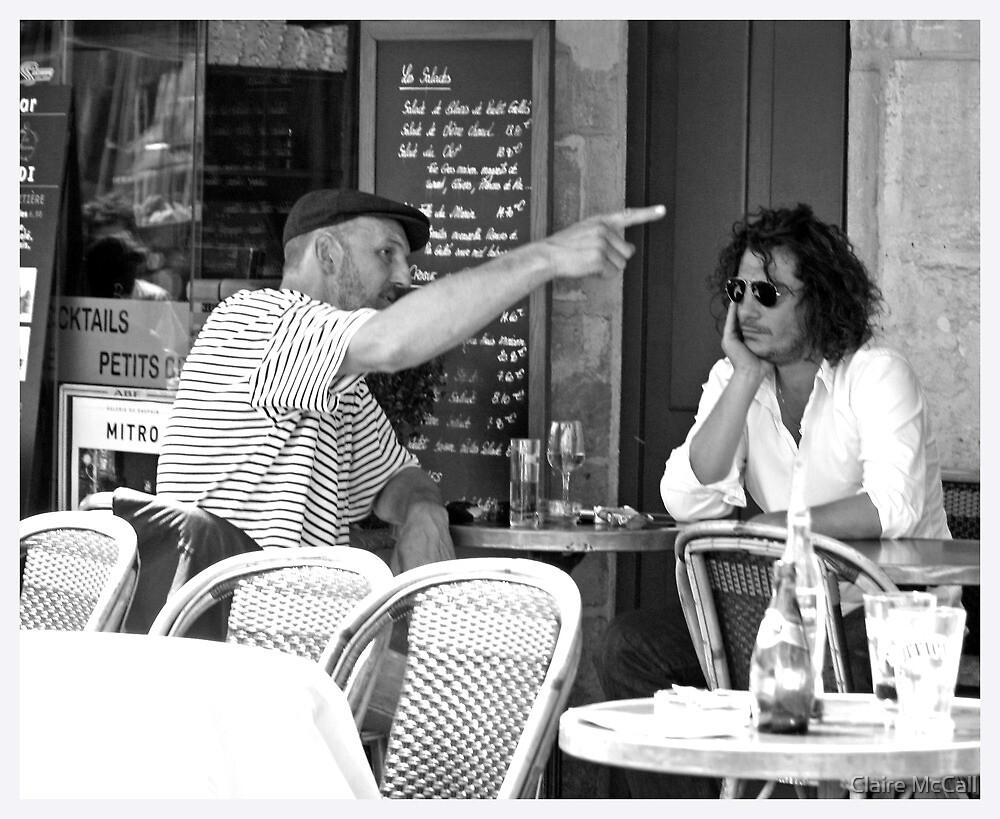 Serious Conversations, Paris by Claire McCall