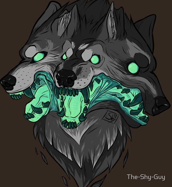 Weird Dog (Green) by The-Shy-Guy