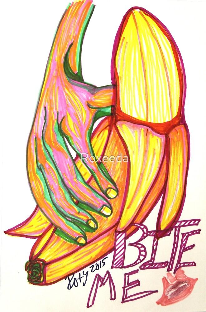 Bite Me Banana by Roxeeda