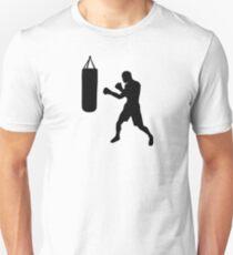 Boxing punching bag Slim Fit T-Shirt