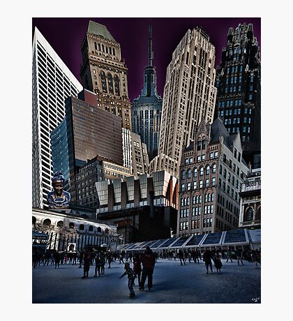 Bryant Park Collage Photographic Print