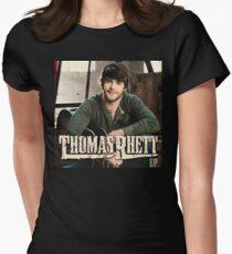 Thomas Rhett Tour 2016 mic04 Women's Fitted T-Shirt
