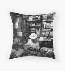 Dublin stallholder Throw Pillow