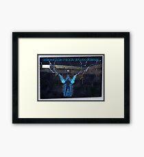 Hero Framed Print