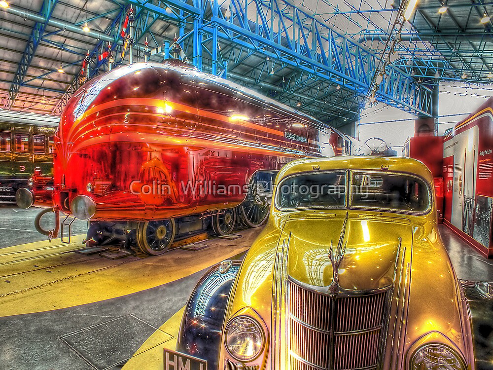 Duchess of Hamilton - NRM - York - HDR by Colin  Williams Photography
