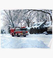 Winter Emergency Poster
