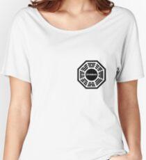 Dharma Initiative logo uniform Women's Relaxed Fit T-Shirt