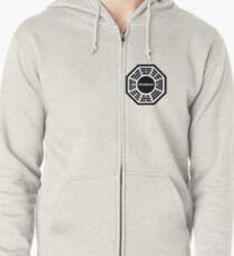 Dharma Initiative logo uniform Zipped Hoodie