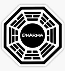 Dharma Initiative logo uniform Sticker