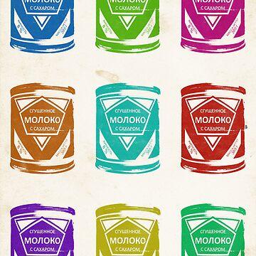 Condensed Milk Colours by karolisbutenas