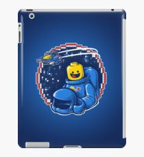 Portrait of a Space-Man iPad Case/Skin