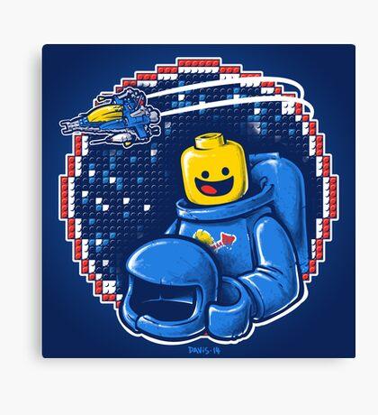 Portrait of a Space-Man Canvas Print