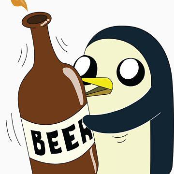 Gunter Loves Beer by SeanE