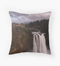 Cliff Hanger Throw Pillow