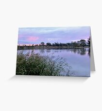 Along the Murray River Greeting Card