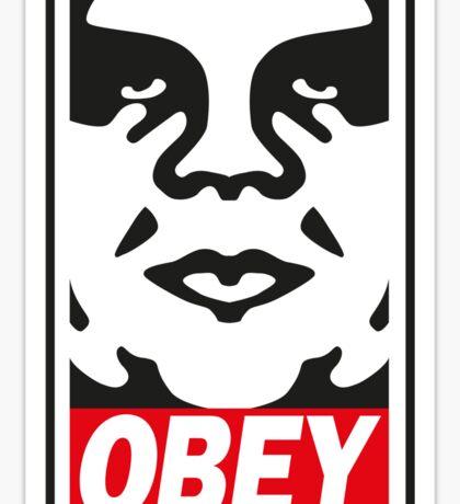 Obey_street art Sticker