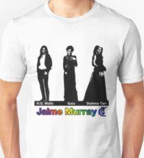 Jaime Murray characters (rainbow) - Warehouse 13, Spartacus, Defiance T-Shirt