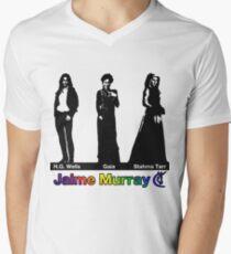 Jaime Murray characters (rainbow) - Warehouse 13, Spartacus, Defiance Mens V-Neck T-Shirt