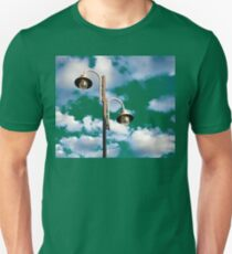 Urban landscape with lamppost  Unisex T-Shirt