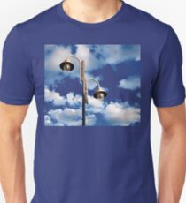 Urban landscape with lamppost  Unisex T-Shirt